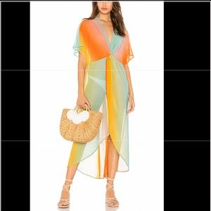 Show Me Your Mumu twisted maxi beach dress